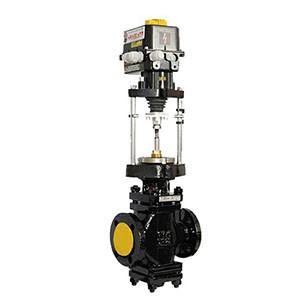 Клапан чугунный запорно-регулирующий 25ч945нж с ЭИМ типа ST-01