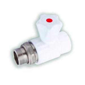 Кран шаровой для радиатора прямой VALFEX