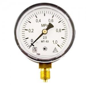 Манометр избыточного давления МТ-100