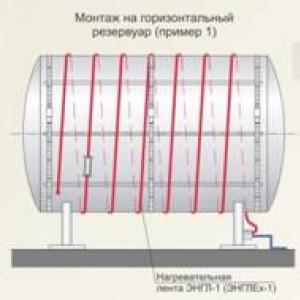 Обогрев резервуаров