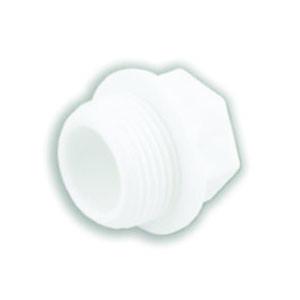 Заглушка полипропиленовая резьбовая VALFEX (длинная)